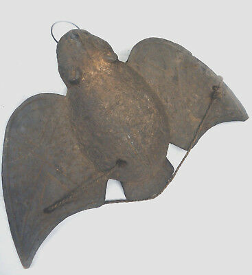 Rare Original Wood Bwa Headcrest Bat Horizontal Mask B.faso Ethnix