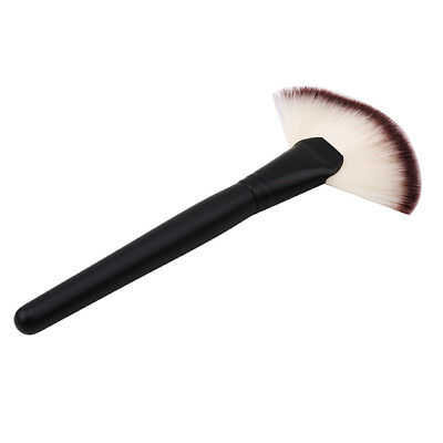 New Large Fan Blush Powder Makeup Cosmetic Tool Foundation Brush Top BS