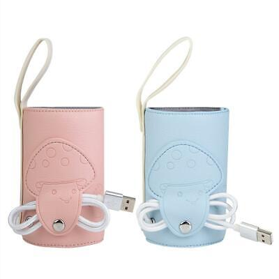 Bottle Warmer Baby Milk Thermostat Portable Usb Travel Feeding Insulation Heater