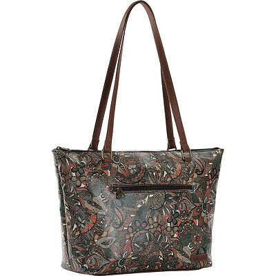 98430194305e Sakroots Artist Circle Satchel with Wallet - Sienna