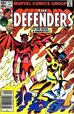 Defenders (1st Series) #111 1982 FN Stock Image