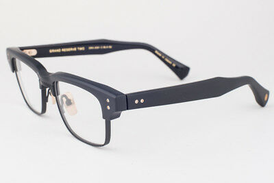 DITA GRAND RESERVE TWO Matte Black & Gold Eyeglasses DRX 2061 C 52mm DRX-2061-C