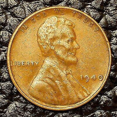 1940-S Lincoln Wheat Cent in XF EF Condition ~ $20 ORDERS SHIP FREE!