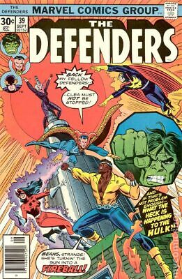 Defenders (1st Series) #39 1976 VG 4.0 Stock Image Low Grade