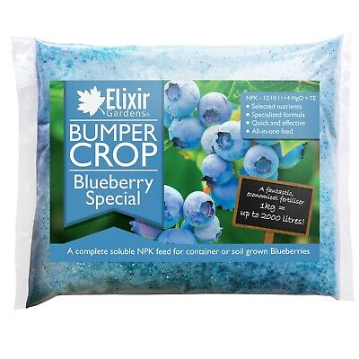 Elixir Gardens® Bumper Crop | Blueberry Special Fertiliser - NPK 12-10-11 + 4