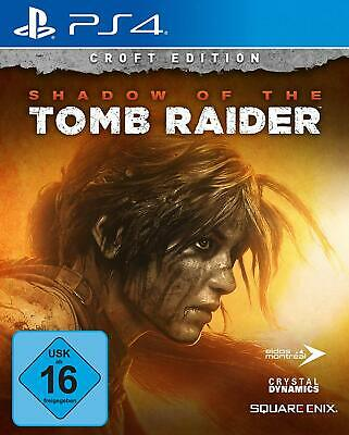 Shadow of the Tomb Raider - Croft Edition [inkl. Season Pass]- [PlayStation 4]
