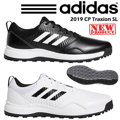 30af66faed30 Adidas Golf Shoes Mens Cp Traxion Sl 2019 Black - White All Sizes New 2019  Wide