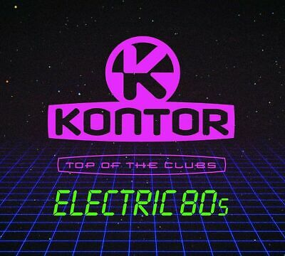 KONTOR  Electric  80s  ( Sampler 2019 )  3 CD   NEU & OVP 15.03.2019