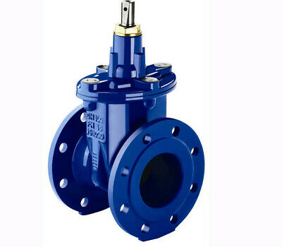 "Mains Water Gate Valve 4"" 100mm DN100 PN16 VAG EKOplus Underground Epoxy Coating"