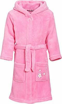 Playshoes Kuschelweicher Fleece-Bademantel, (5 años (110-116 cm)|Original)