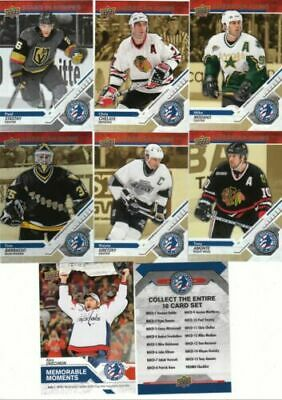 2019 Upper Deck National Hockey Card Day American Complete Set (17) Gretzky + Sp