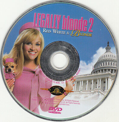 Legally Blonde 2: Red, White and Blonde (DVD, 2008, Canadian) DISC ONLY