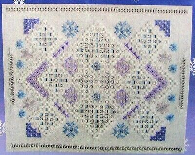 THE WINTERS TALE Needlepoint Hardanger Embroidery Pattern CREATIVE STITCH DESIGN