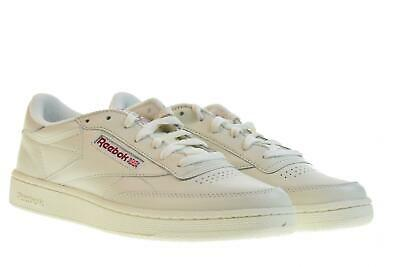 3ae88b7886d55 REEBOK CLUB C 85 MU DV3895 sneakers white leather retro tennis ...