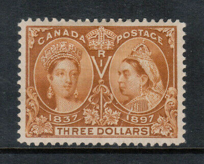 Canada #63 Extra Fine Mint Full Original Gum Hinged Crease **With Certificate**