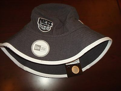 a7eee7323aedb BROOKLYN NETS NEW ERA BEACH SURF SIZE M SCRIPT hat cap BUCKET FLOPPY BEACH