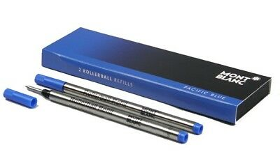 Montblanc 2 recharges pour rollerball (M) Pacific Blue