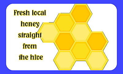 21 Honey, Bee Keeping,personalised Glossy Craft Stickers, (217)
