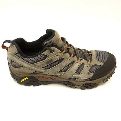 100% original special section top-rated genuine MERRELL MENS MOAB 2 Low Grey M-Dry Athletic Vibram Hiking ...