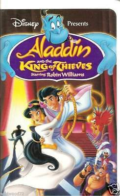 Walt Disney's Aladdin and the King of Thieves (VHS, 1996)
