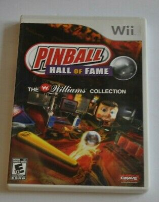 PINBALL HALL OF FAME Williams Collection Nintendo Wii Video Game