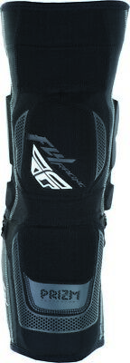 Fly Racing Prizm Mens MX Offroad Knee Guards Black