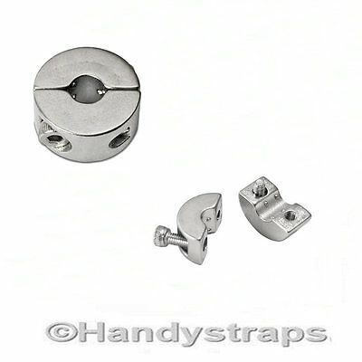 Stainless Steel Wire rope 3mm, 4mm, 5mm, 6mm, stopper/clamp ( 2 GRUB SCREWS)