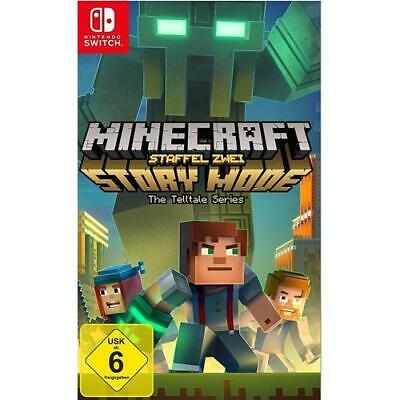 Nintendo Switch - Minecraft Story Mode - Season 2 [DE-Version] Nintendo Tel NEU
