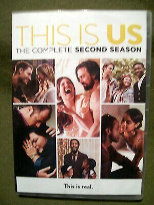 This Is Us: The Complete Second Season (DVD, 2018, 4-Disc Set)
