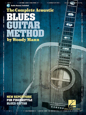 COMPLETE BLUES & Ragtime Guitar Player Learn to Play Music