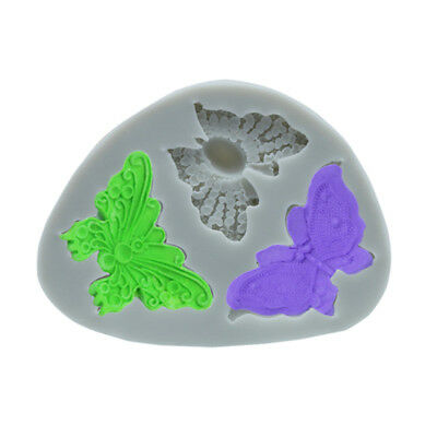 Butterfly Shaped  Cake Silicone Mold Fondant Decorating Baking Tools BS