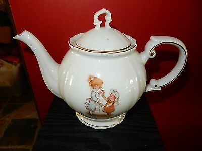 Spectacular Vintage Holly Hobbie Tea Pot RARE