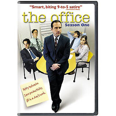 The Office - Season One DVD, Steve Carell, John Krasinski, Jenna Fischer, Rainn