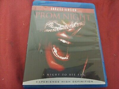 Prom Night Brittany Snow Unrated Version Horror Bluray Movie Film Disc Sony 2008