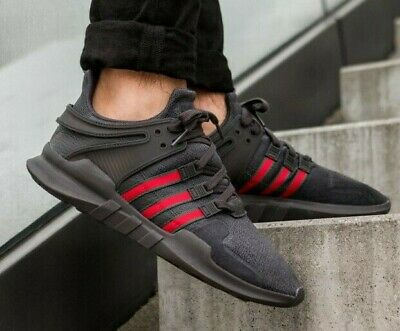 2beae4649 Adidas Equipment Eqt Support Adv Black/red/green Size 10.5 Brand New (Bb6777