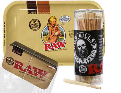 Raw Cones Pre Rolled 98 Speacial Size 50 Count W Raw Tray And Cone Artist