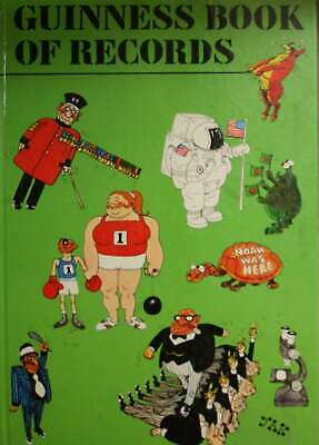 Guinness Book of Records 1974, , Very Good Book