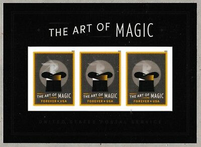 US 5306 The Art of Magic Rabbit Production forever souvenir sheet MNH 2018