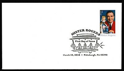 US 5275 Mister Rogers BWP FDC 2018