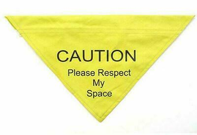 Ancol Respect My Space Warning Bandana M/L 36cm