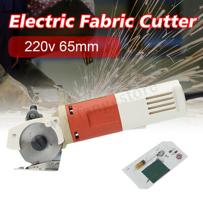 150W 65mm Electric Blade Round Knife Cloth Fabric Cutting Cutter Machine AC