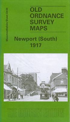Old Ordnance Survey Map Newport South 1917