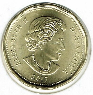 2017 Canadian Brilliant Uncirculated Business Strike $1 Coin!