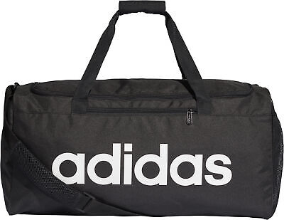 15b66556aa335 ADIDAS LINEAR CORE Large Holdall - Black - EUR 32,89 | PicClick FR