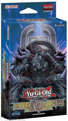 YuGiOh! Emperor of Darkness Structure Deck ::  41 Cards + Mat + Guide - No Box :
