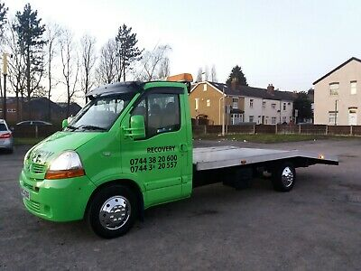 Renault Master Recovery Truck Established & Running Business For Sale