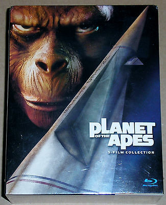 Action Blu-ray Lot - Planet of the Apes 5-Film Collection (New)