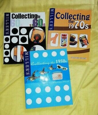 Collecting The 1950's 1960's 1970's - Hardback Books - Retro Kitsch