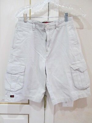 c687f42674 Boys Off White Cargo Hawk Size 16 Shorts 28 Waist 10 Inseam 11 Rise Tonyhawk