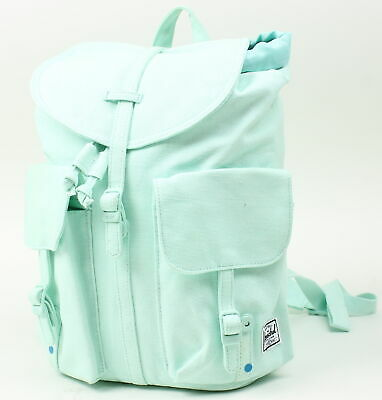 Herschel Dawson Womens Backpack Cotton Canvas Blue Tint One Size New w   Defect 8a1e024041819